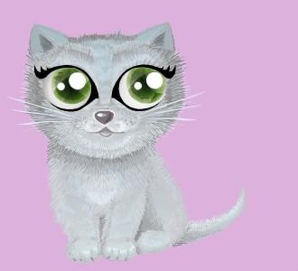 Recueillir un chat de race shiny chartreux